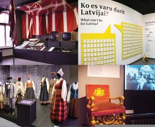 """4. maijā aicina uz muzikālu ekskursiju """"Brīvības dziesmas"""" izstādē """"Latvijas gadsimts"""""""