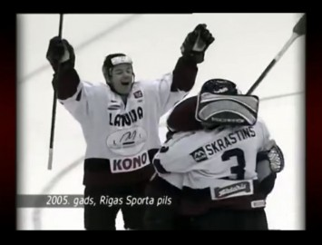 Video: Latvija - Baltkrievija Olimpiskās kvalifikācijas turnīrā 2005. gadā