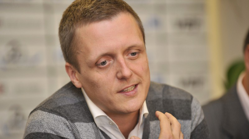 Edgars Jaunups  Foto: Romāns Kokšarovs, Sporta Avīze, f64