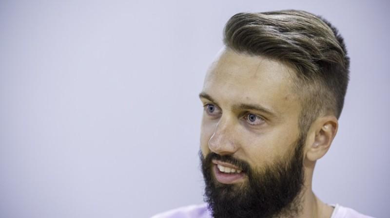 Latvijas izlases basketbolists Žanis Peiners. Foto: Ģirts Ozoliņš, f64