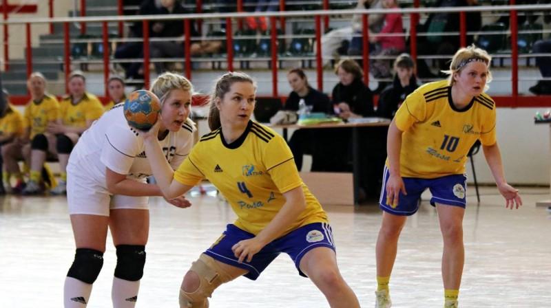 """Latgols"" dāmu komanda. Foto: handball.lv"