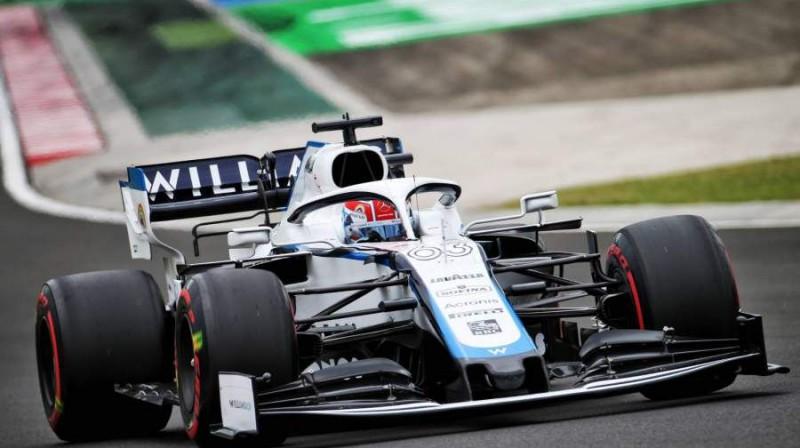 Džordžs Rasels. Foto: Williams F1 Team