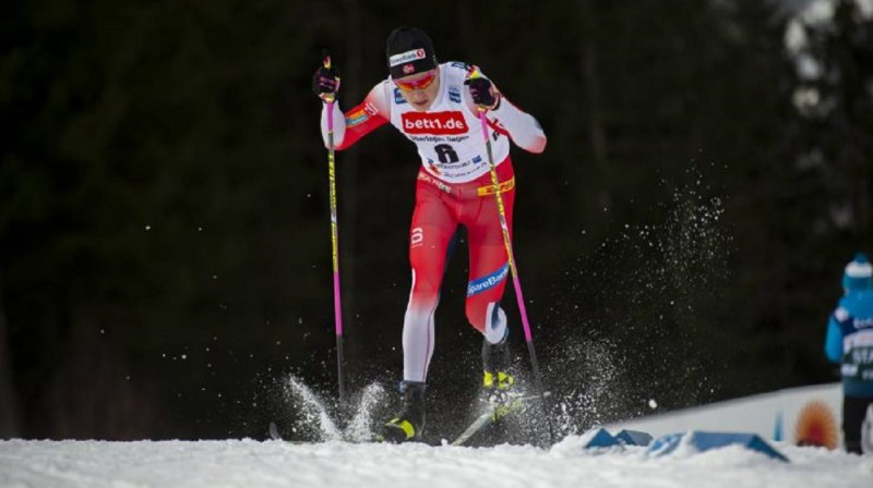 J.H.Klēbo vēlreiz apliecināja pasaules labākā sprintera statusu. Foto: Nordic Focus