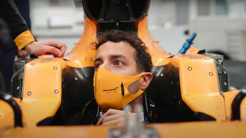 Daniels Rikjardo. Foto: McLaren Racing