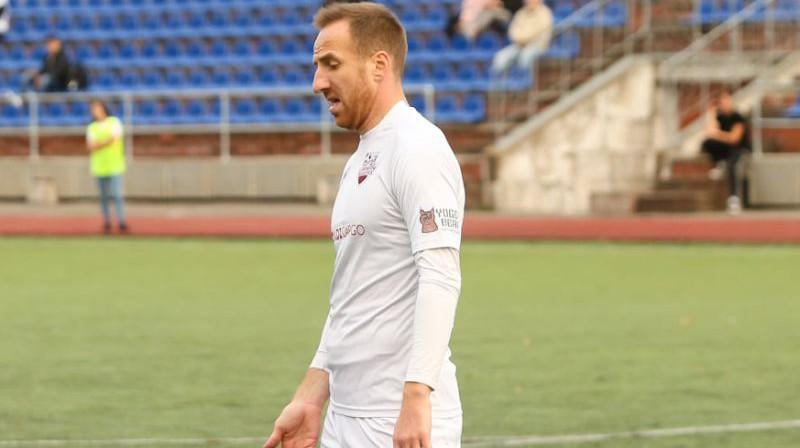 Aleksandrs Jerkins. Foto: Daugavpils Lokomotiv
