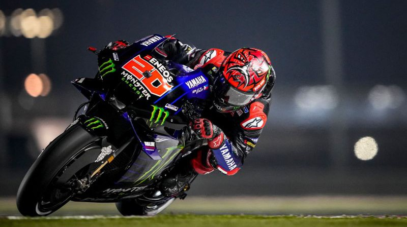 Fabio Kvartararo. Foto: Monster Energy Yamaha MotoGP