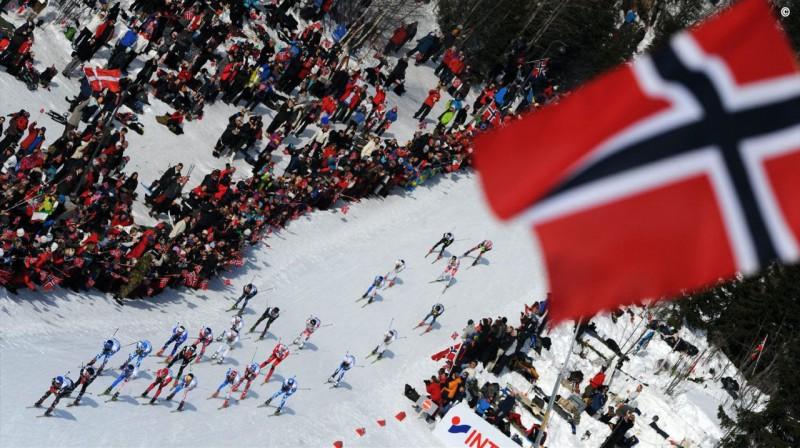 PK posma sacensības Holmenkollenas trasē.