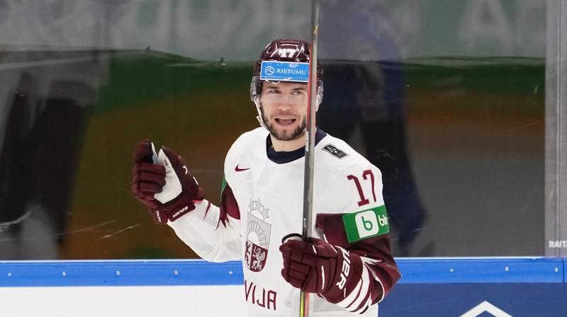 Mārtiņš Dzierkals. Foto: IIHF