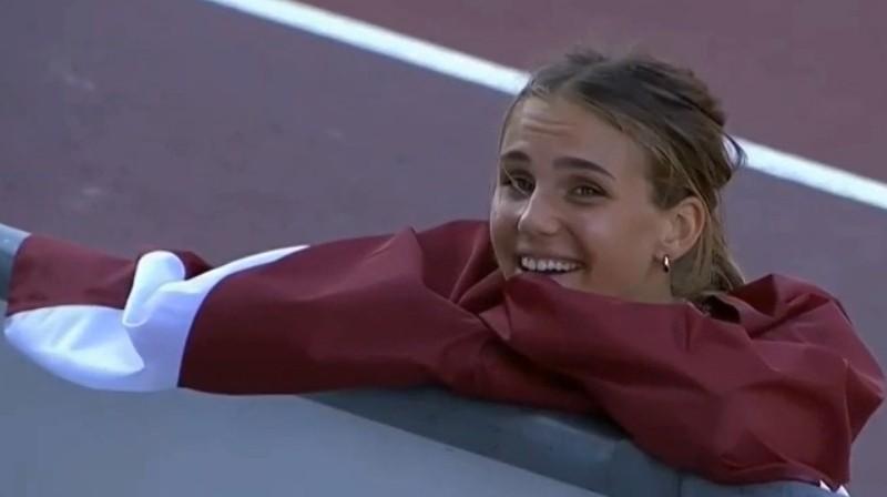 Rūta Lasmane. Foto: athletics.eurovisionsports.tv
