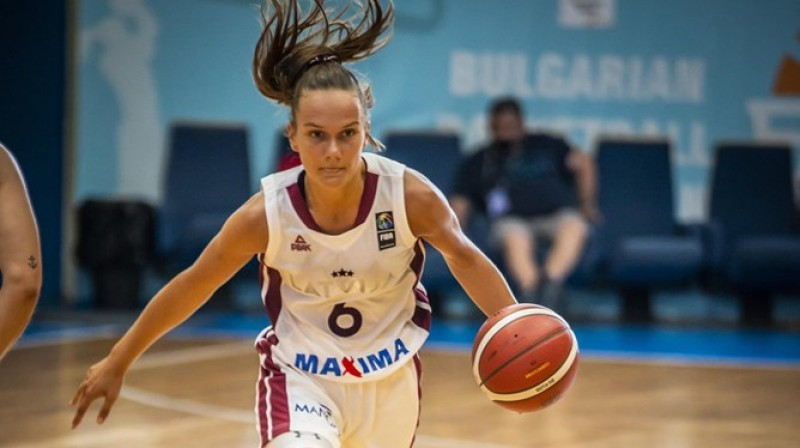 Ketija Vihmane. Foto: FIBA