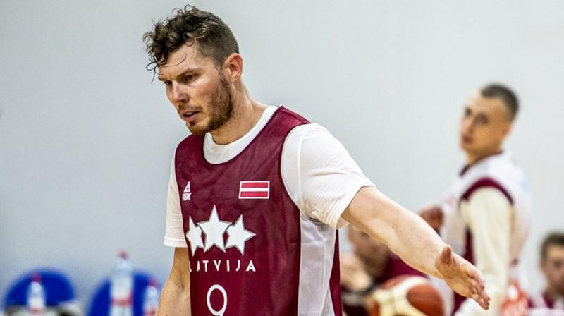 Dairis Bertāns. Foto: basket.lv