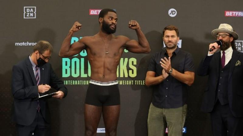 Džošua Buatsi. Foto:  Mark Robinson/BoxingScene