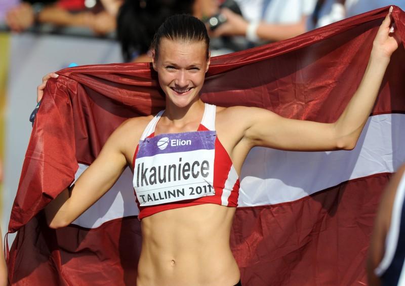 Ikauniecei bronza Eiropas U-20 čempionātā
