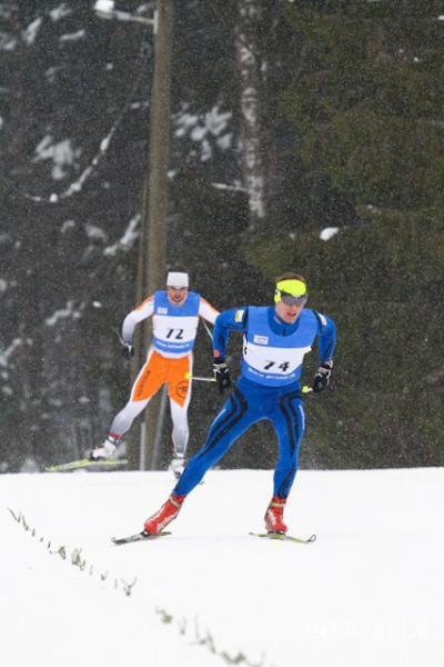 Slēpotajs Jānis Paipals labākais no latviešiem FIS sacensībās Kontiolahti