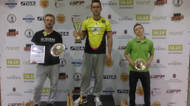 Caics uzvar Latvia Open ceturto gadu pēc kārtas