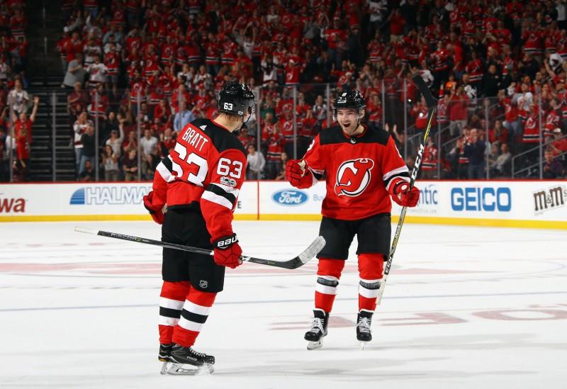 """Jaunajam zviedru uzbrucējam Bratam divu gadu līgums ar """"Devils"""""""