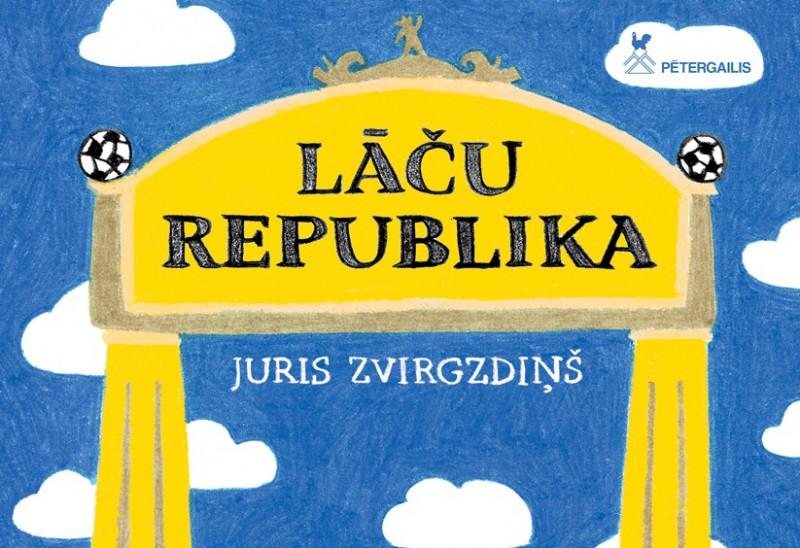 Izdota jauna grāmata bērniem - Lāču republika