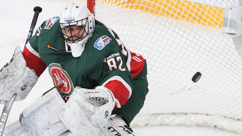 """Bijušais Rīgas """"Dinamo"""" vārtsargs Biļalovs sasniedz iespaidīgu KHL rekordu"""