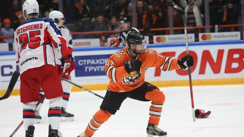 """Parādu nomocītā """"Amur"""" pārsteidzoši apspēlē Gagarina kausa čempioni"""