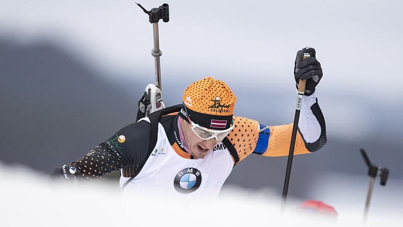 Rastorgujevs un vēl divi latvieši atklās sesto posmu Oberhofā ar 10 km sprintu