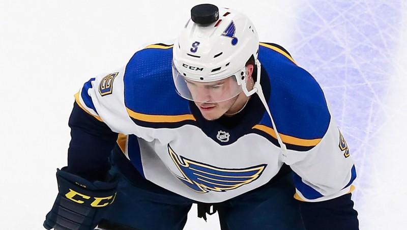 """NHL sezonas pirmā diskvalifikācija: """"Blues"""" uzbrucējam jāizlaiž divi mači"""