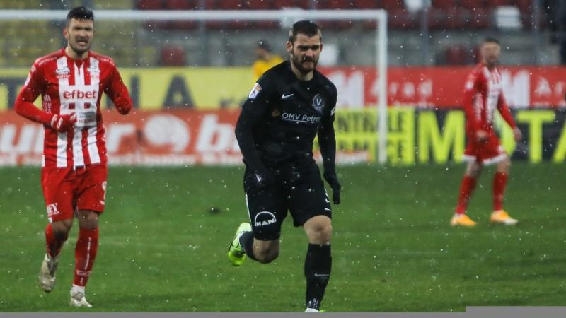 """Šabala ārpus pieteikuma """"Viitorul"""" neizšķirtā Rumānijas līgas mačā"""