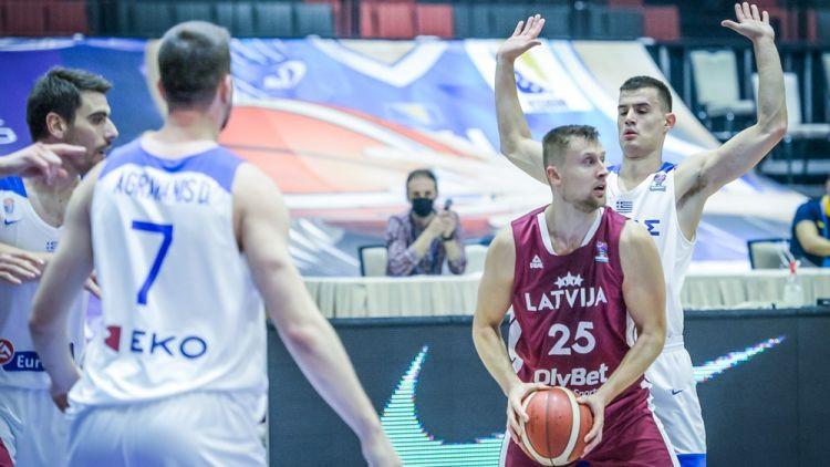 Latvijas izlase nesekmīgo kvalifikācijas ciklu noslēgs pret grieķiem