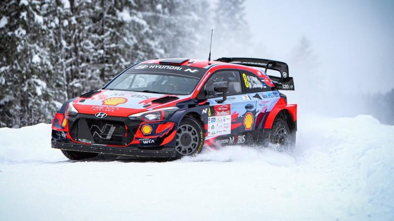 Lapzemes WRC treniņos ātrākais Tanaks, Noivils un Ekstroms ielido kupenās