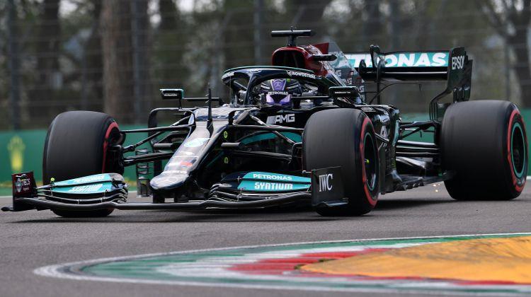 Hamiltonam karjeras 99. uzvara kvalifikācijā, Peress izcīna otro vietu