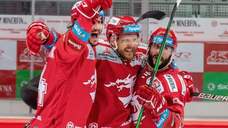 """Freibergs un """"Trinec"""" triumfē Čehijas Ekstralīgā"""