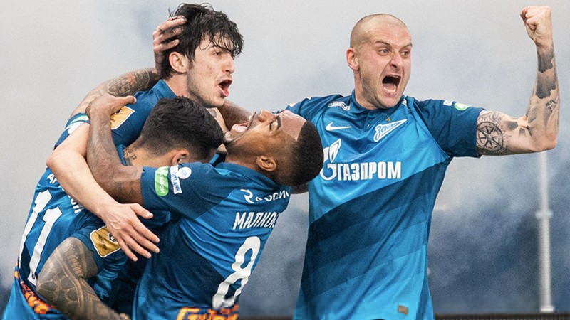 """""""Zenit"""" grauj tuvāko sekotāju """"Loko"""" un triumfē Krievijas Premjerlīgā"""