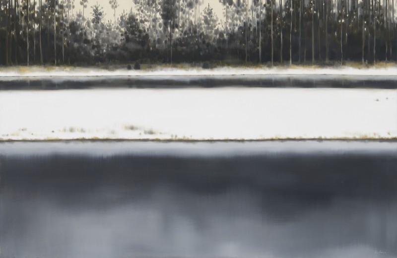 """Latgales vēstniecībā GORS – jauna mākslinieces Vijas Zariņas izstāde """"Uzgleznotā daba"""""""