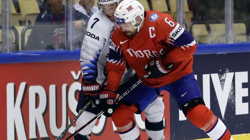 Norvēģu aizsargs Hūless piedalīsies 15. pasaules čempionātā pēc kārtas