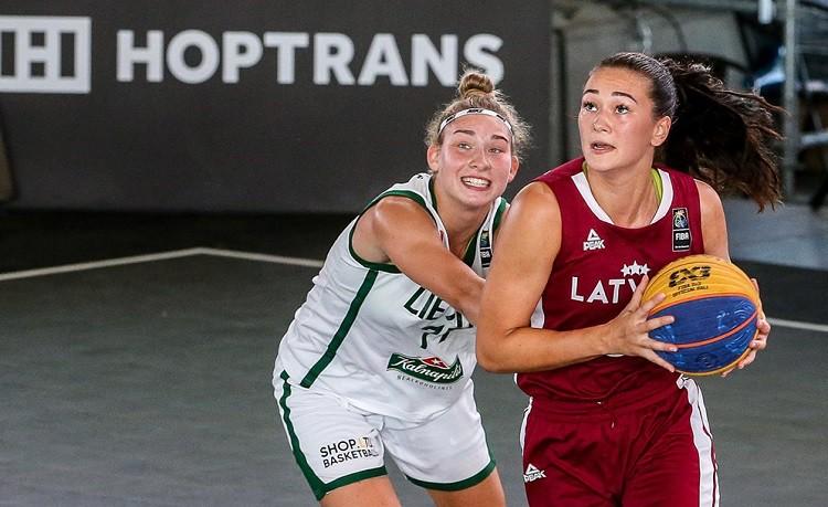 Latvijas U23 3x3 basketbola izlases noslēdz Nāciju līgas pirmo pusi ar 2. un 3. vietu