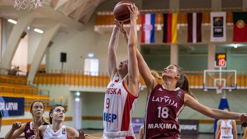Bulāne, Ķīvīte, Leimane un Priede nodrošina Latvijai uzvaru pār Vāciju