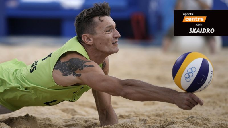 Skaidrojam: situācija pludmales volejbola turnīrā pirms pēdējām grupu spēlēm