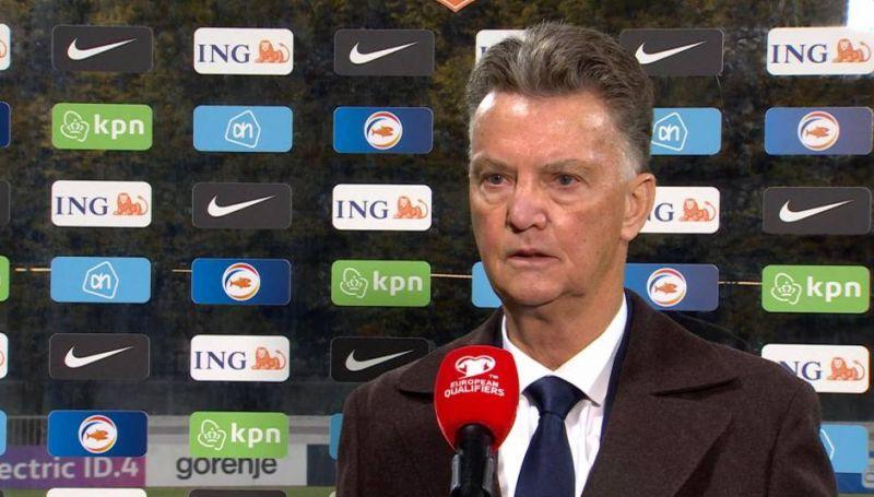 """Van Gāls: """"Jau pirms spēles teicu, ka būšu priecīgs par 1:0"""""""